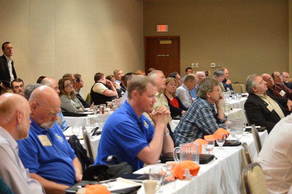 Audience at the Prairie Summit