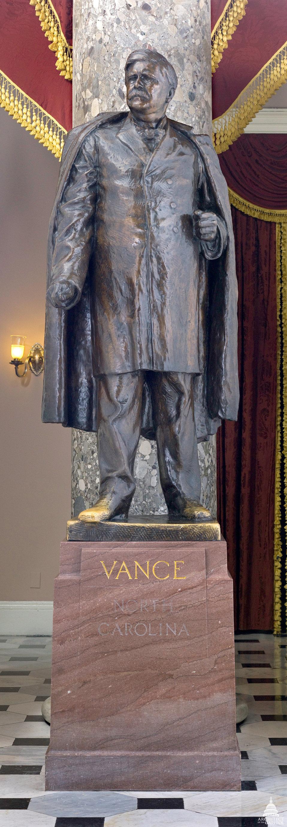 Zebulon Baird Vance Statue