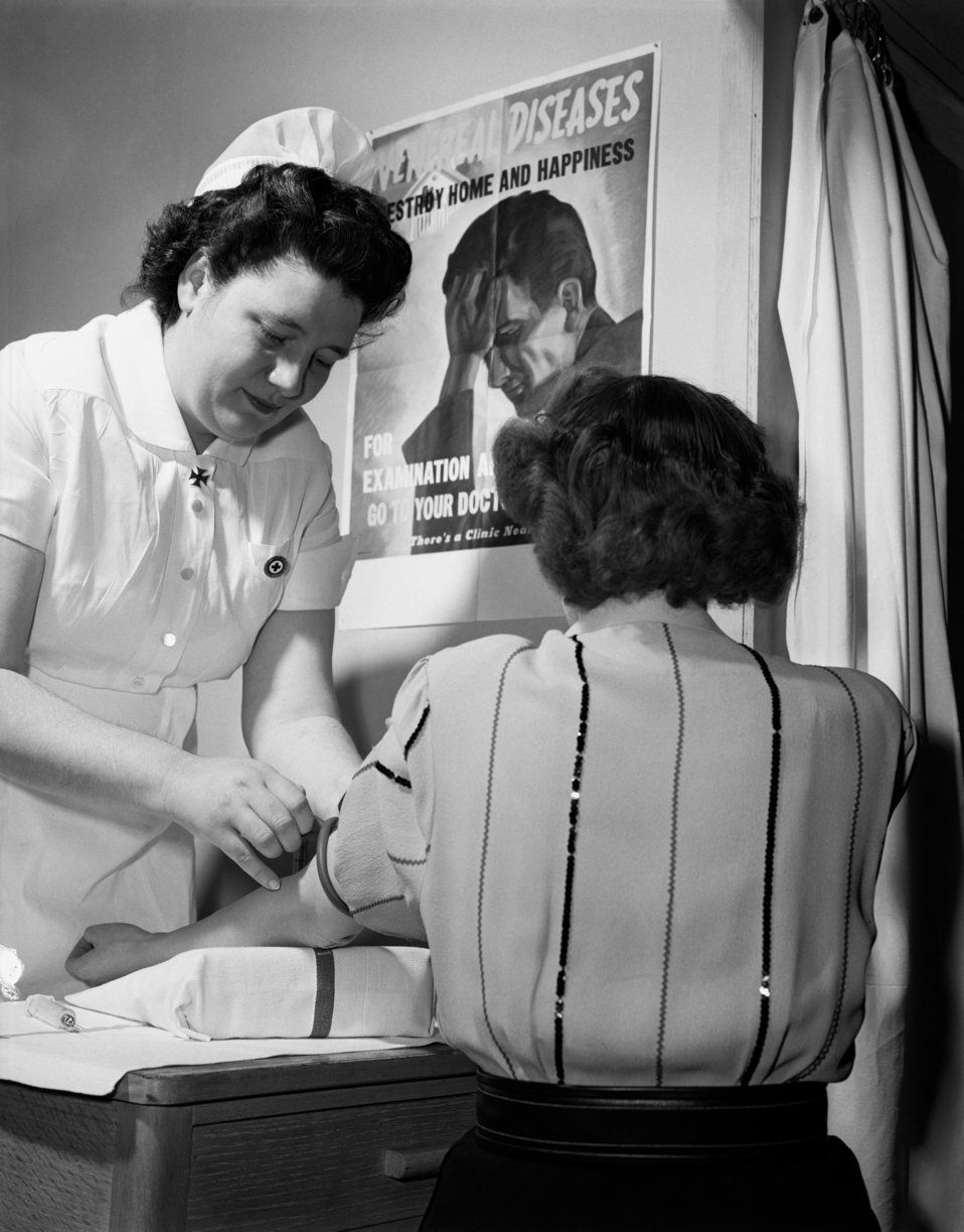 Public Health Nursing Oak Ridge 1947