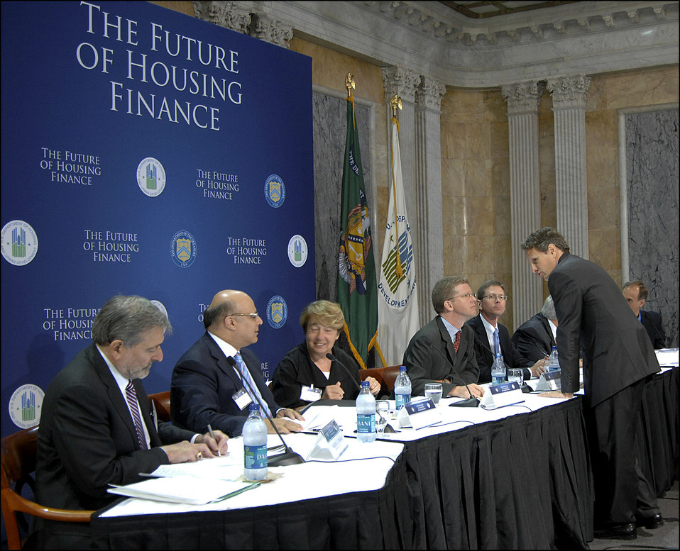 Conference on the Future of Housing Finance, 08/17/2010