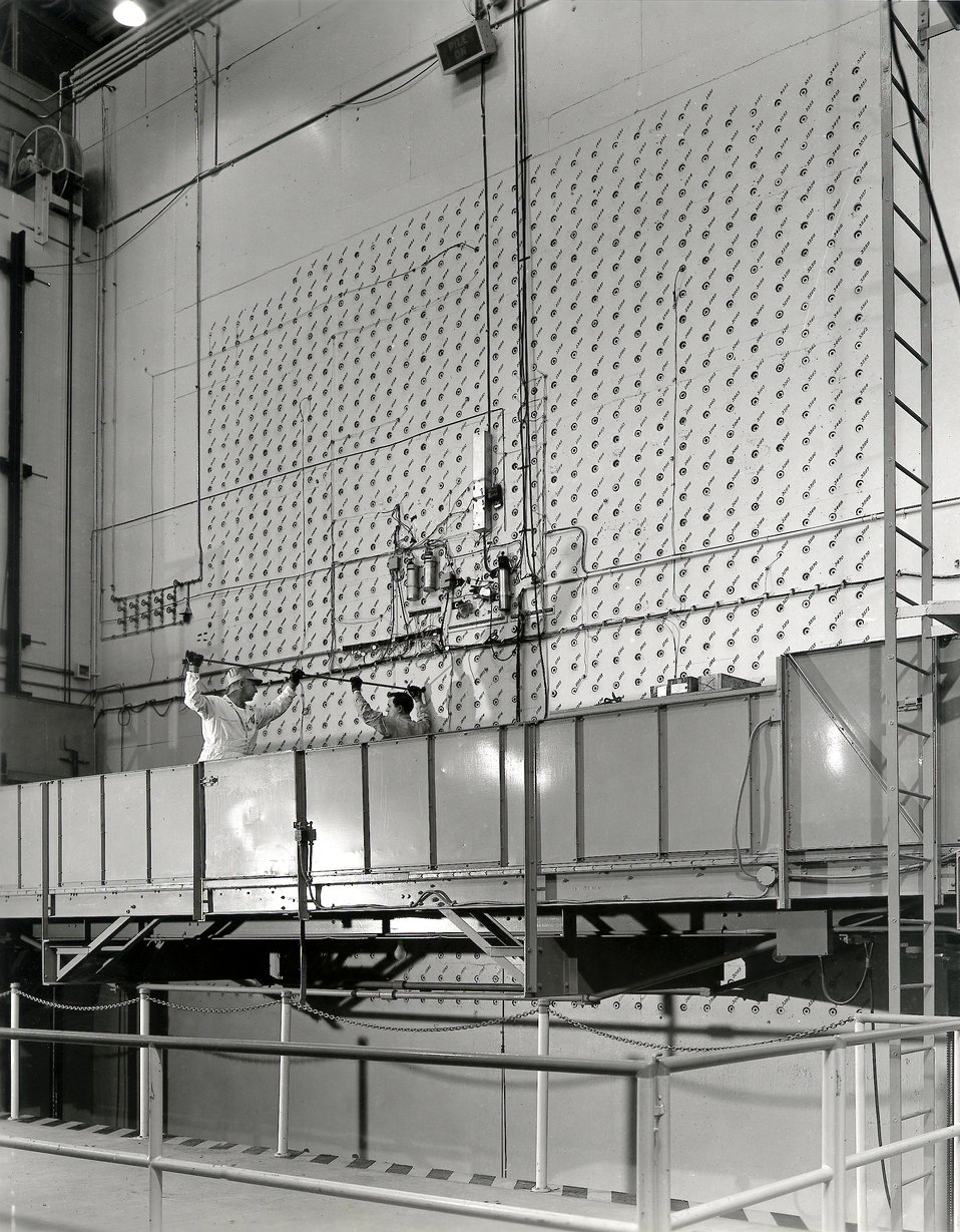 Graphite Reactor Reactor East Loading Face Oak Ridge National Lab. Oak Ridge