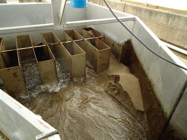 Storm damage at Eisenhower National Fish Hatchery in Vermont