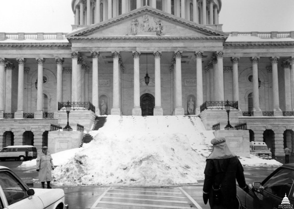 Snow at the Capitol February 1979