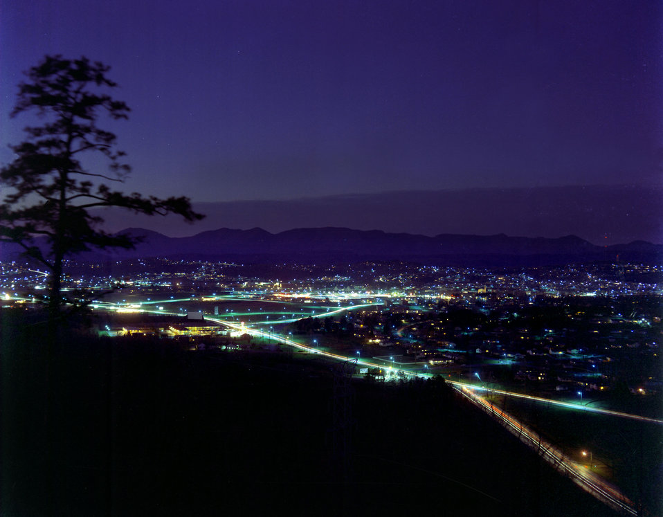 Night View of City of Oak Ridge