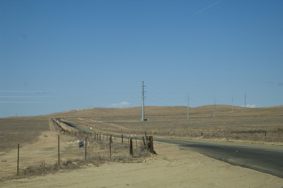 Lonely Road, Carrizo Plain