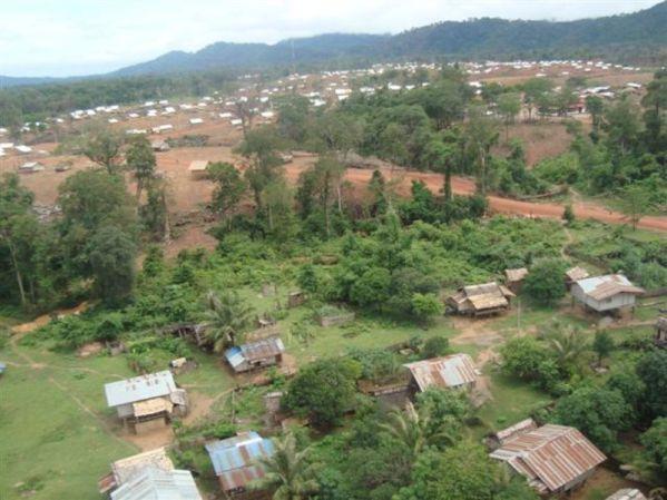 View of Phonekham Development Village