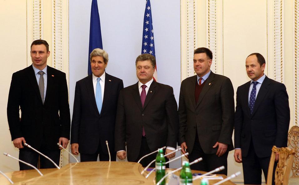 Secretary Kerry Meets With Ukrainian Members of Parliament