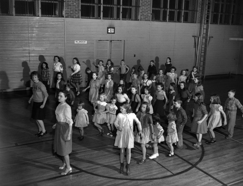 Tap Dancing, Elm Grove School (Oak Ridge, TN 1948)