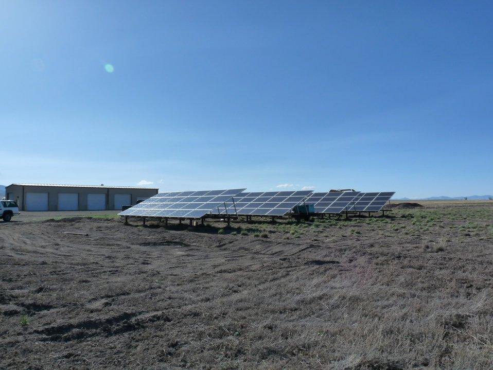 Monte Vista NWR Solar Panels