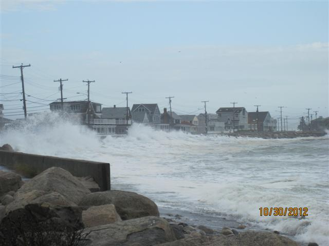 Hurricane Sandy hit Rachel Carson National Wildlife Refuge (ME)