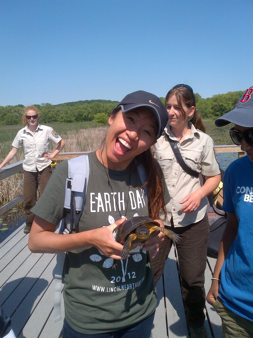 Having fun with Blanding's Turtles!