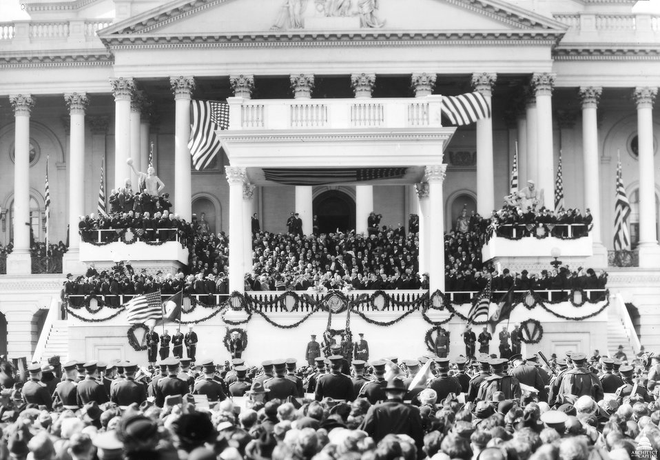Inauguration of President Warren G. Harding