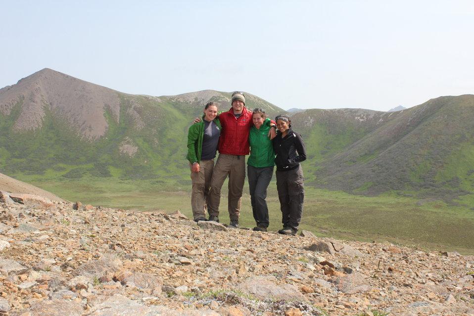 2012 Kittlitz's murrelet research crew