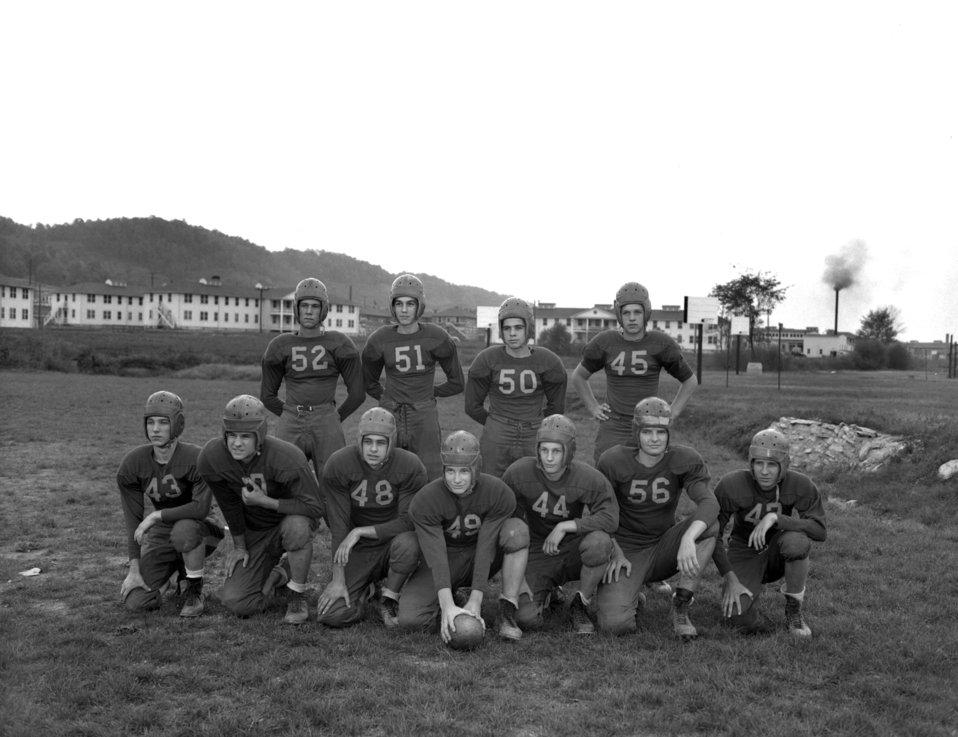 Jefferson  Jr. High School Football Squad Oak Ridge