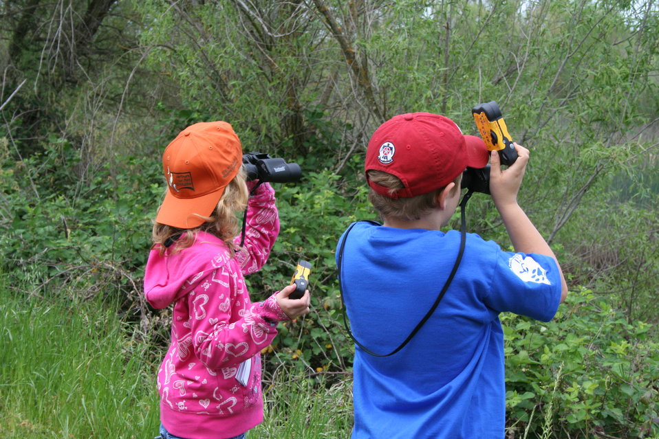 Children at Stone Lakes NWR