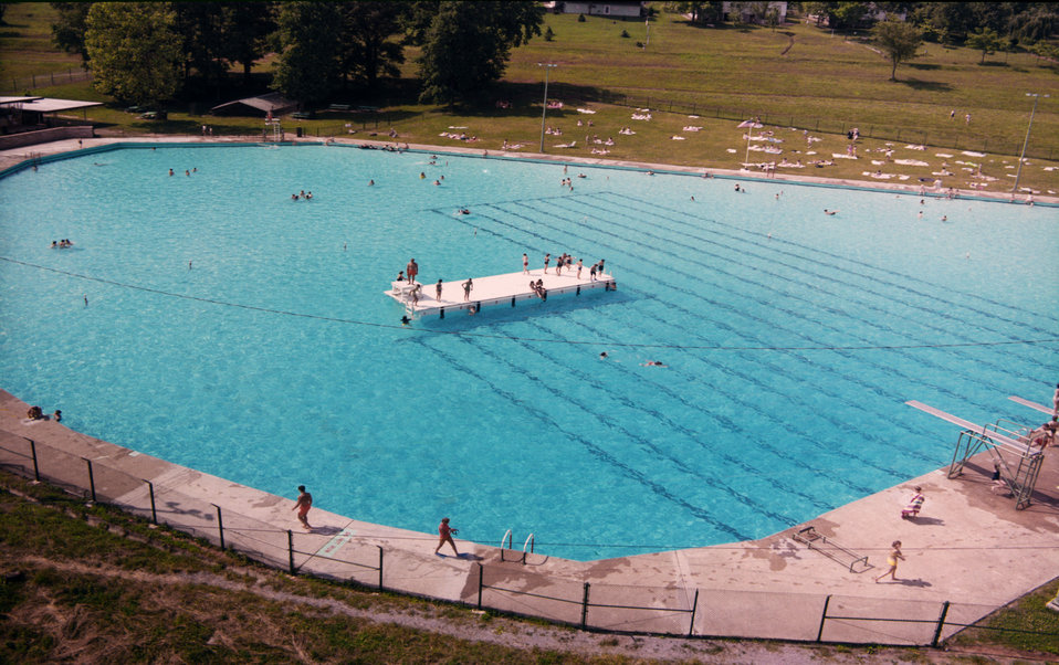 Oak Ridge Swimming Pool 1968