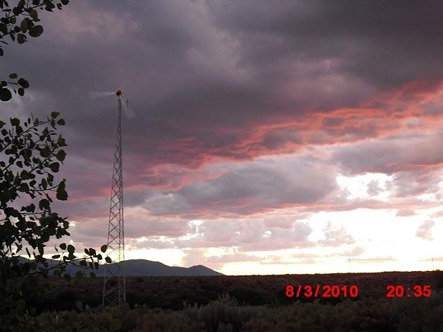 Wind Turbine at Browns Park National Wildlife Refuge