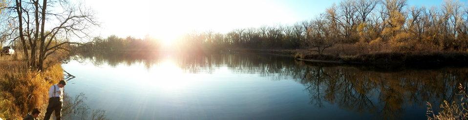 Sunset on the Platte River