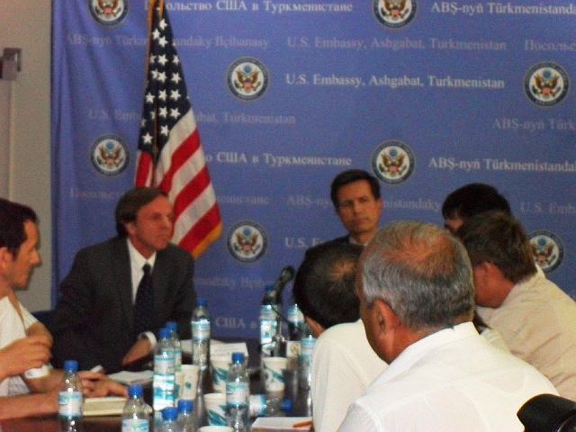 Assistant Secretary Blake Participates in the U.S.-Turkmenistan Business Council