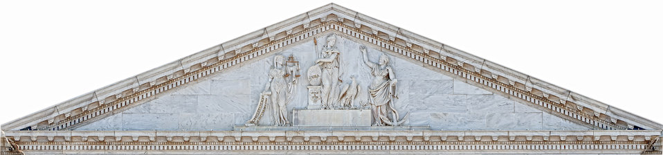 Genius of America - U.S. Capitol Central Pediment