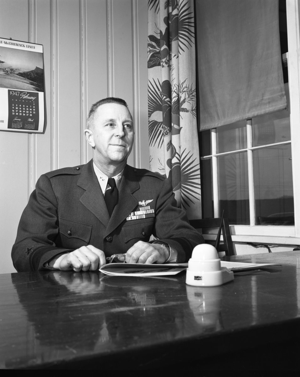 Rear admiral T.C. Lonnquest Oak Ridge 1947