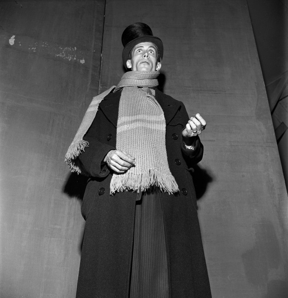 Community Playhouse 'Christmas Carol' Oak Ridge 1947