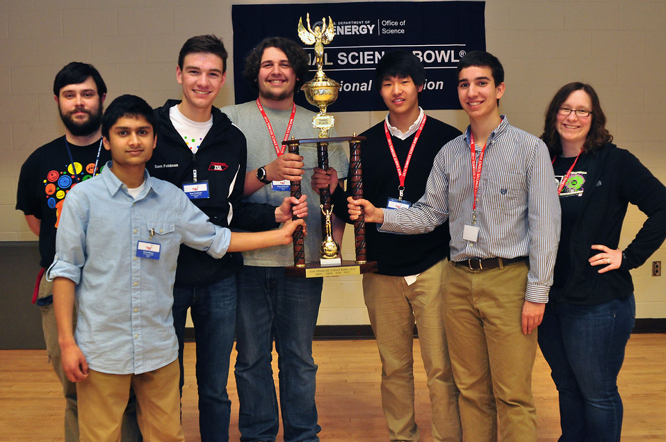 3rd place Hardin Valley HS 2014 TN DOE Science Bowl