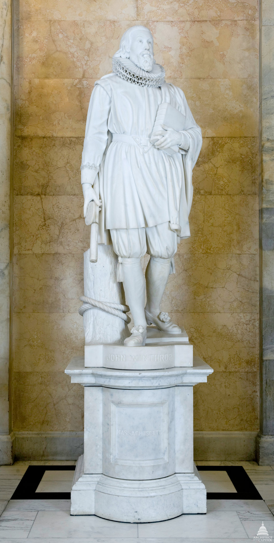 John Winthrop Statue