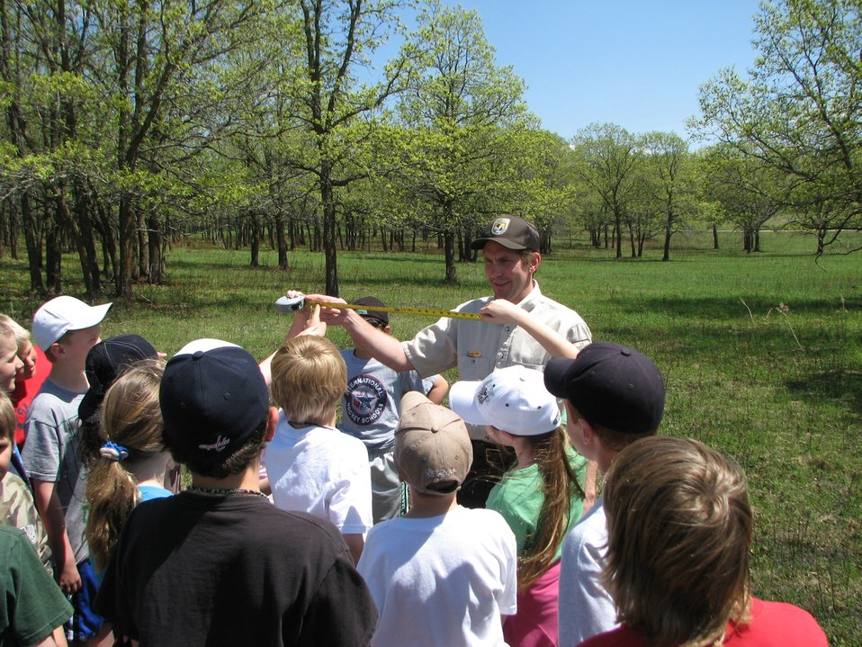 Educating Youth at Sullys Hill National Game Preserve
