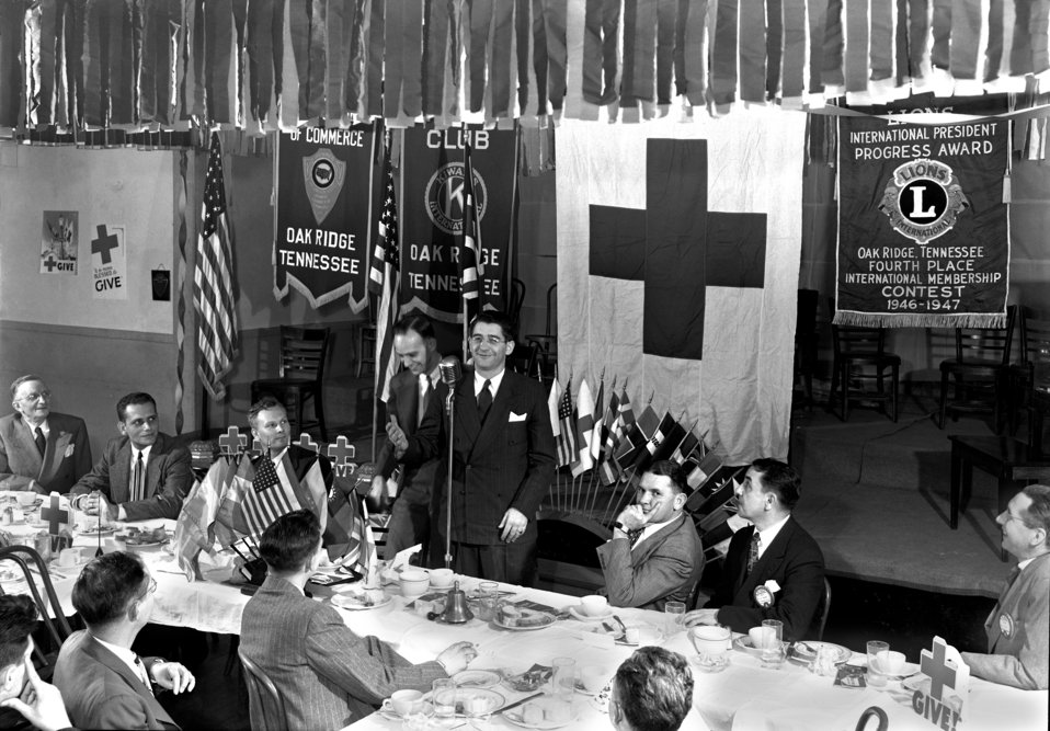 Red Cross Joint Dinner Oak Ridge 1948