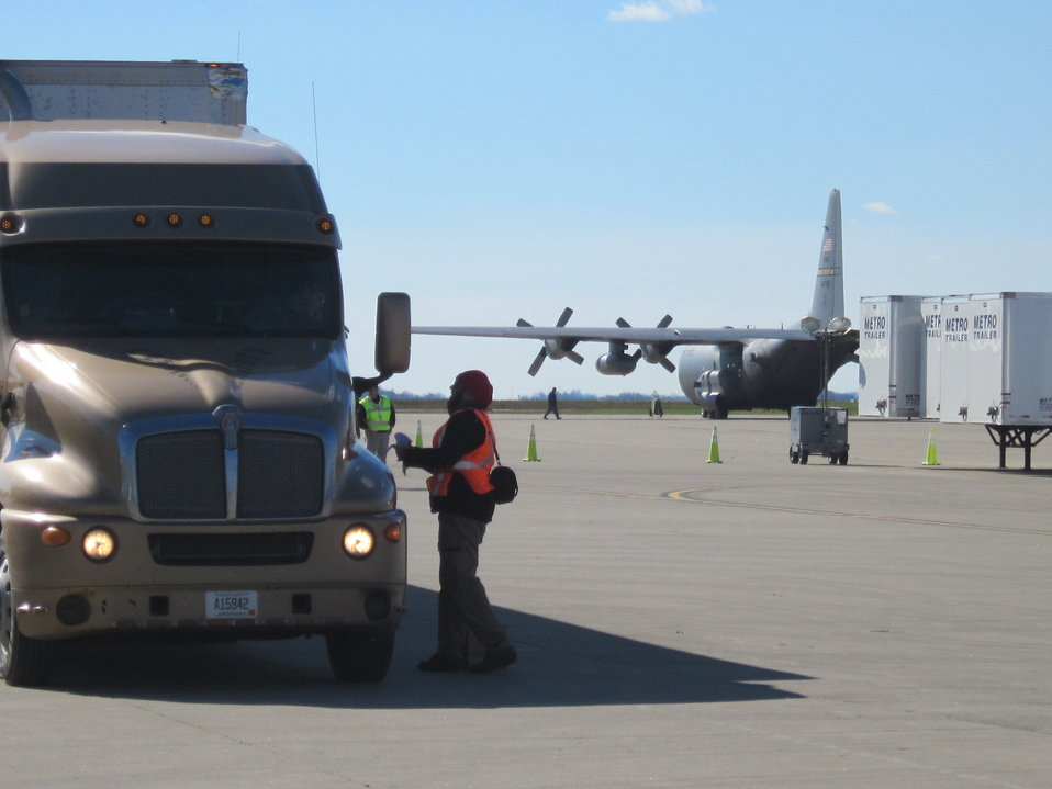 Tracking trucks