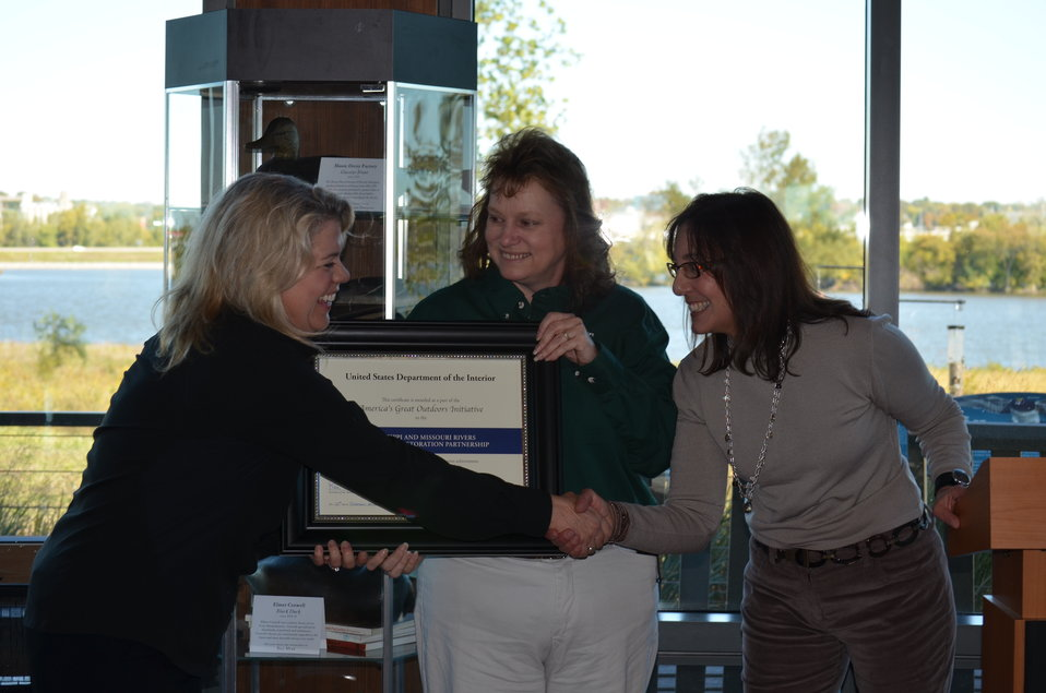 MO Dept. of Nat. Resources honored