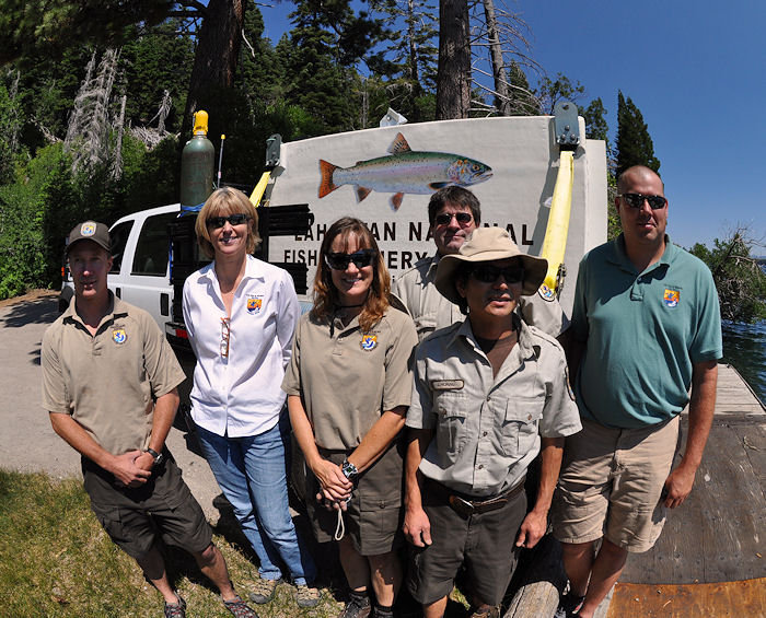 Lahontan Nat'l Fish Hatchery team