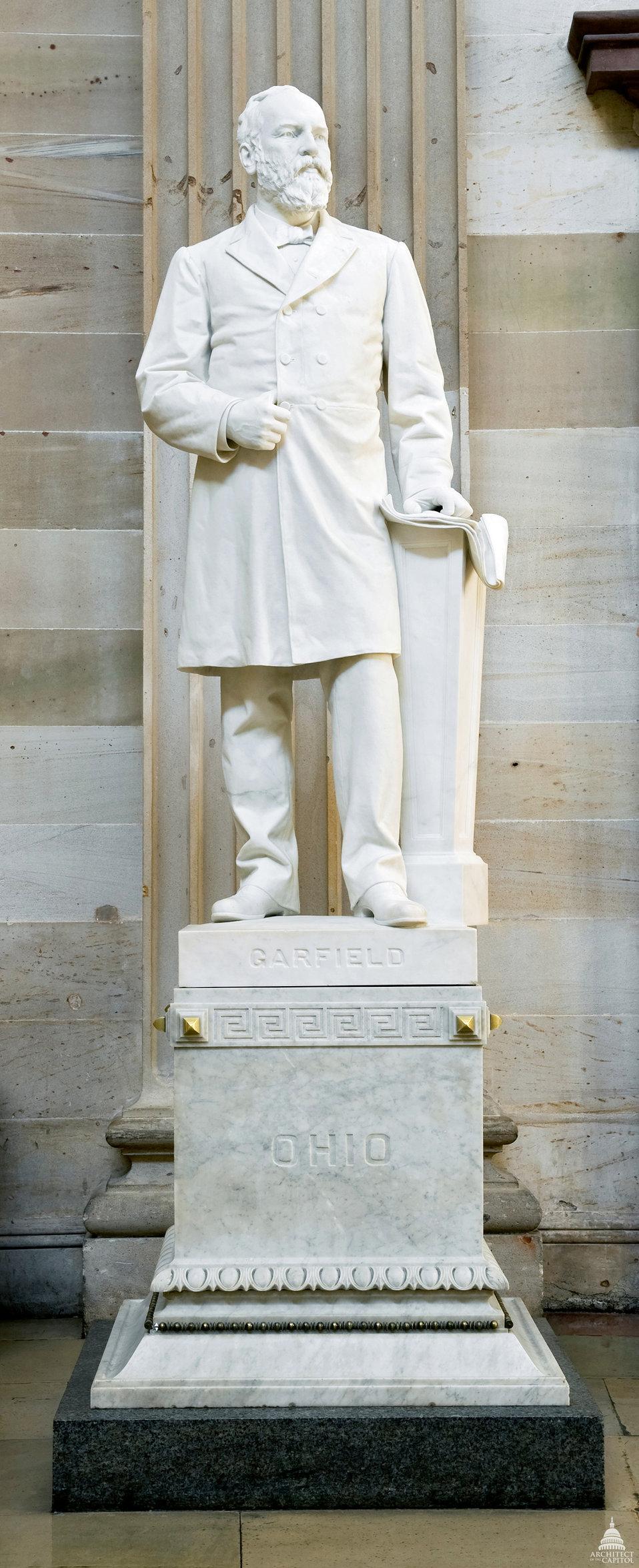 James A. Garfield Statue