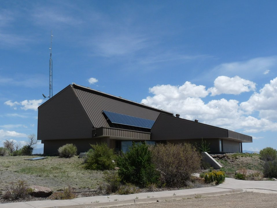 Solar Panels on Alamosa National Wildlife Refuge Visitor Center