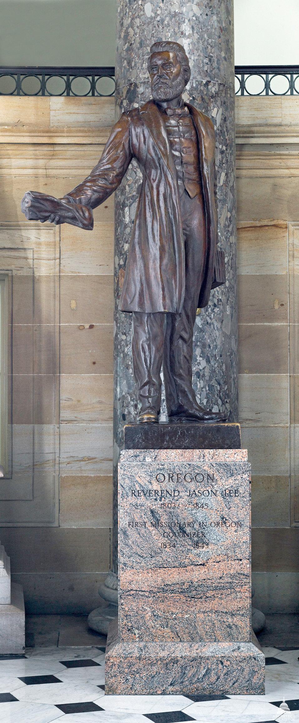 Jason Lee Statue