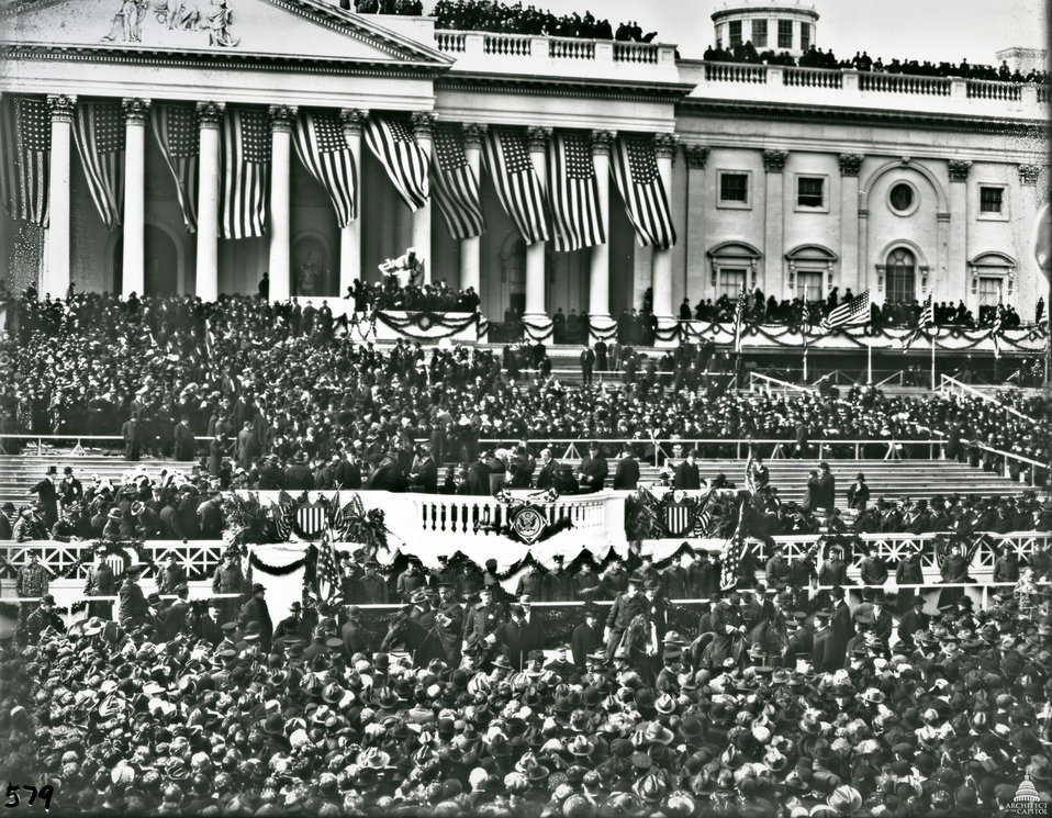 Woodrow Wilson Inauguration Ceremony