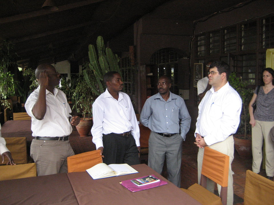 Deputy Secretary Neal Wolin's trip to Africa 2009