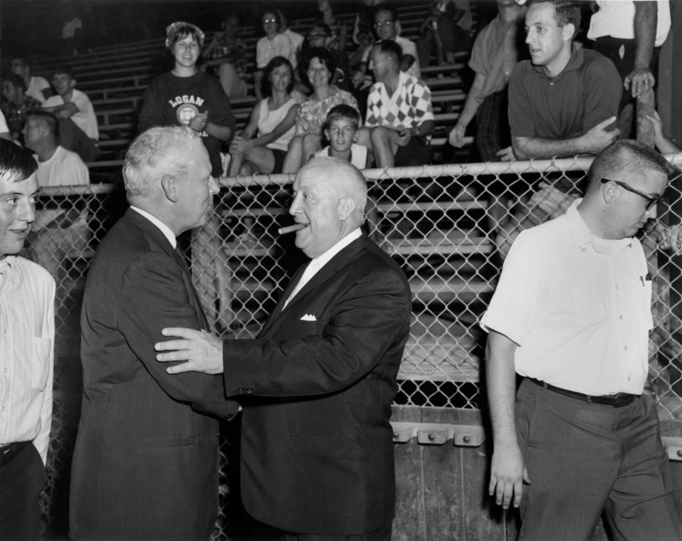 Sen. Albert Gore, Sr. at Softball Game Oak Ridge 1965