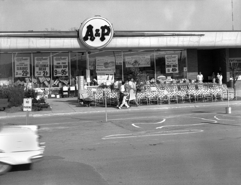 Downtown Center AandP Store Oak Ridge