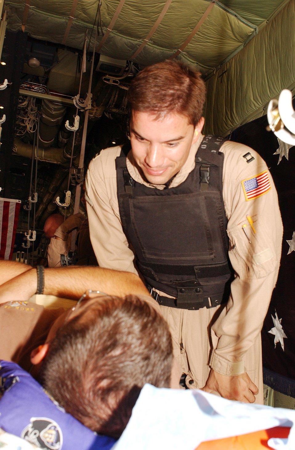 Aeromedical evacuation process key to saving lives in Iraq