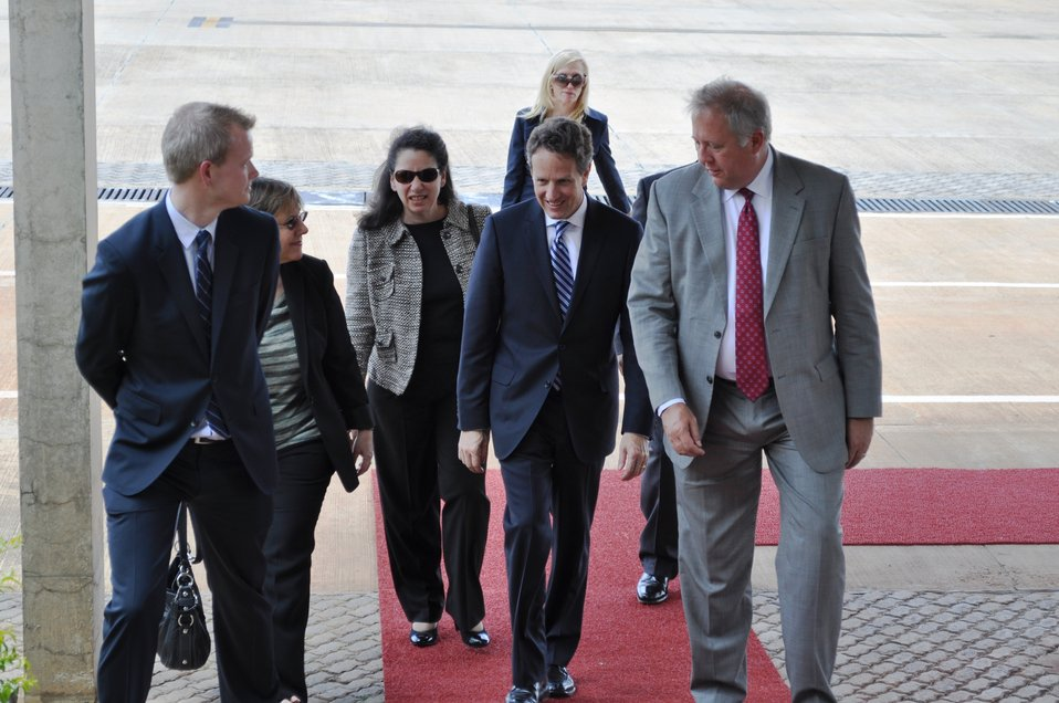 Secretary Geithner Travels to Brazil, 02/07/2011