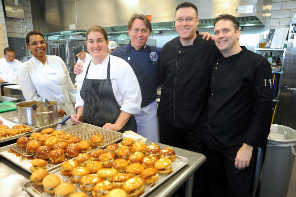 New Orleans Chef Besh Prepares State Department Luncheon for French President Hollande