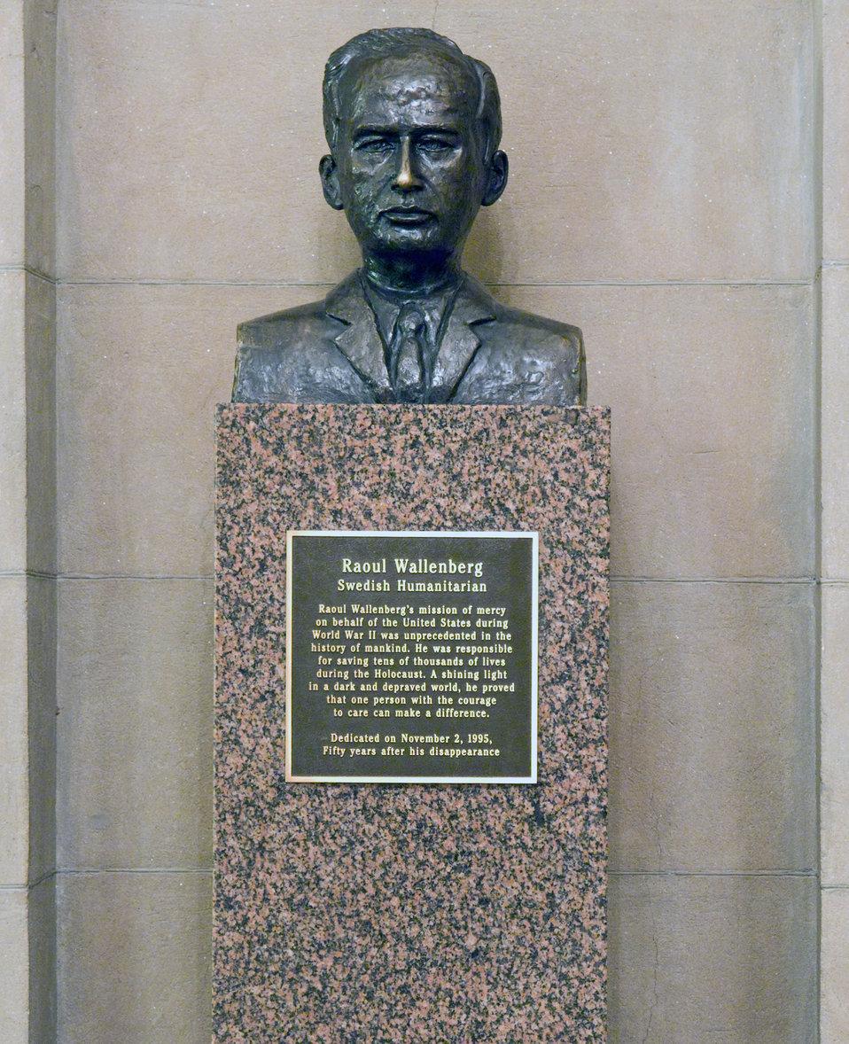 Raoul Wallenberg Bust