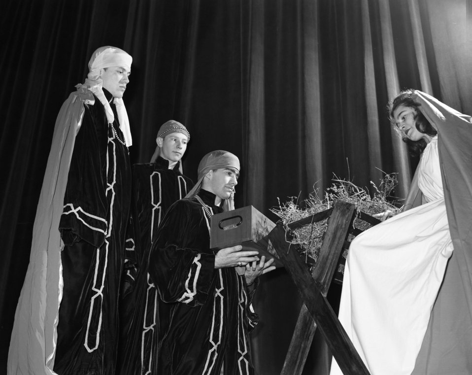 High School Christmas Play Oak Ridge 1947