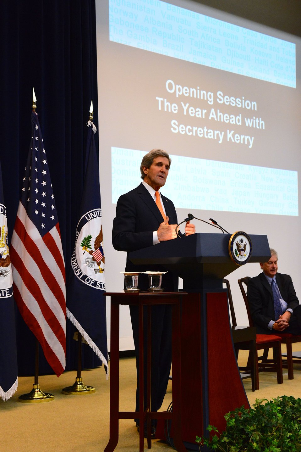 Secretary Kerry Delivers Remarks at the Global Chiefs of Mission Conference