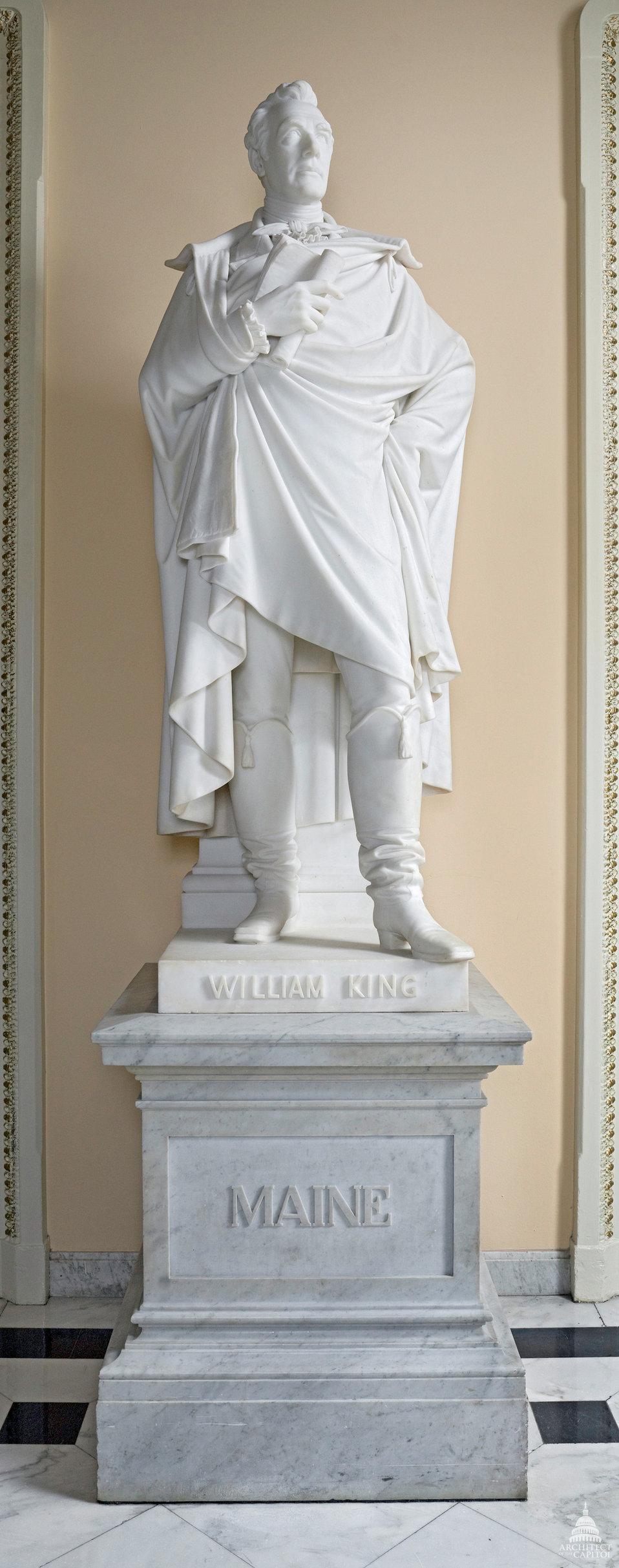 William King Statue