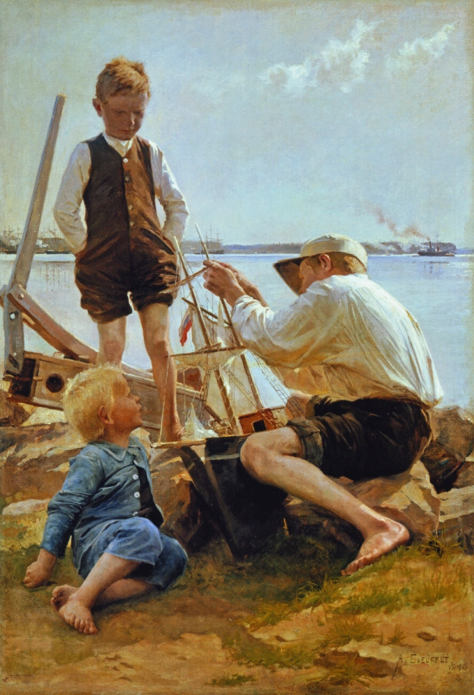 Albert Edelfelt Shipbuilders 1886.jpg