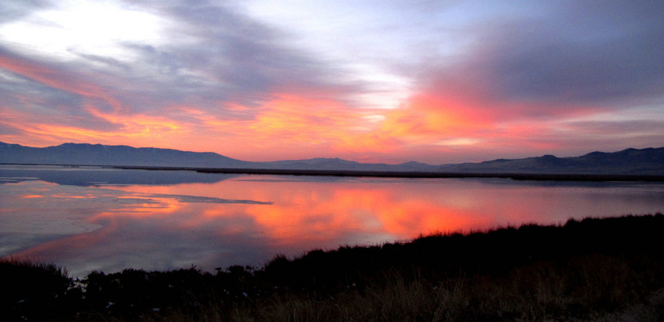 Bear River sunset