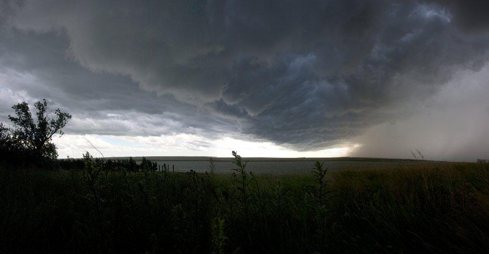 Medicine Lake NWR Storm